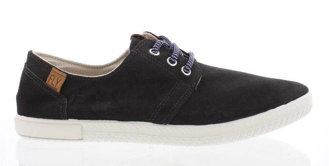 Fly London Sesh Men's Lace Up Trainer in Anthracite
