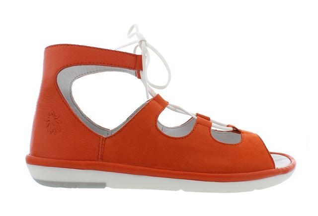 Fly London Mura in Poppy Orange