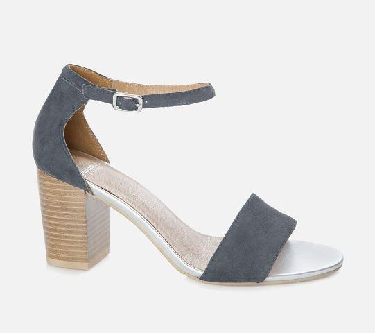 Vagabond Women's Scarlet Heeled Sandal - Moon Blue