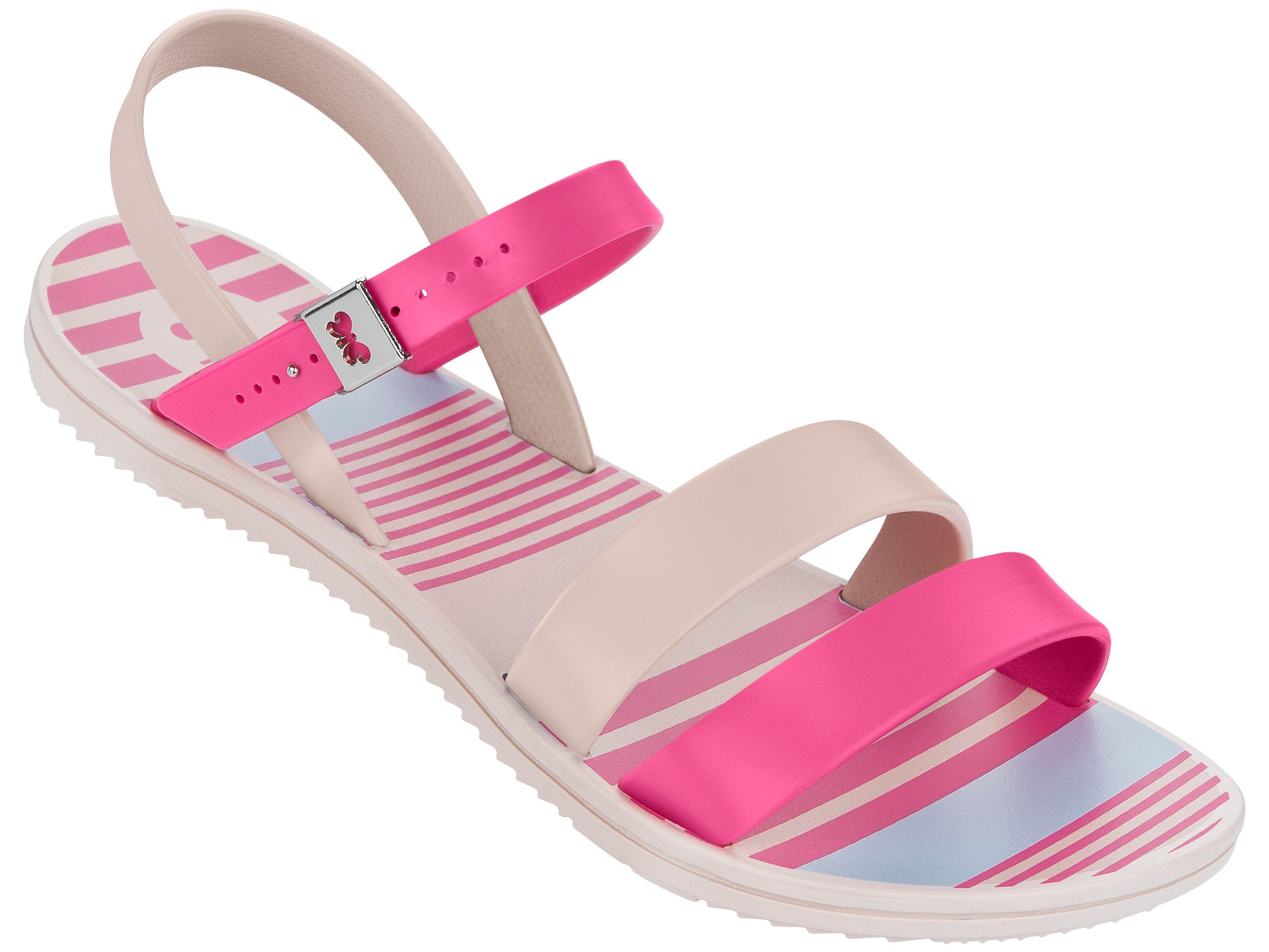 Zaxy Urban strappy sandal-Pink/Nude