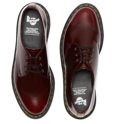 Dr Martens 1461 (Vegan) - Cherry Red