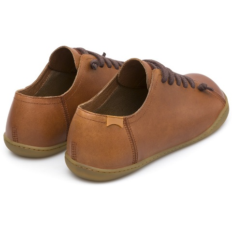 Camper Peu Cami Shoe - Brown Leather