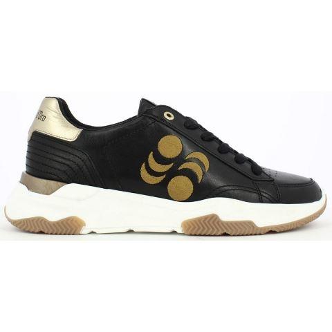 Pantofola D'oro Azteca Uomo Low - Black/Gold