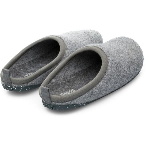 Camper Wabi Slipper - Light Grey Felt