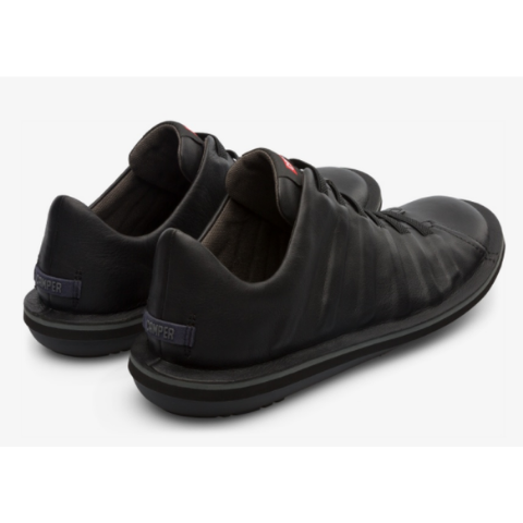 Camper Beetle Shoe - Black Leather