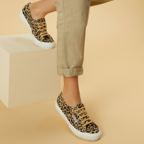 Superga 2750 Fantasy Leopard