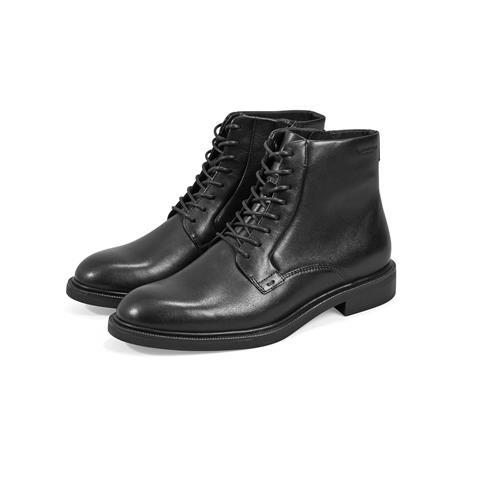 Vagabond Amina Leather Lace Ankle Boot - Black
