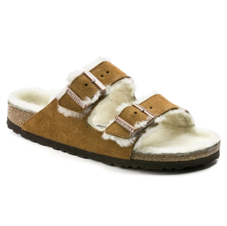 Birkenstock Arizona Fur - Mink