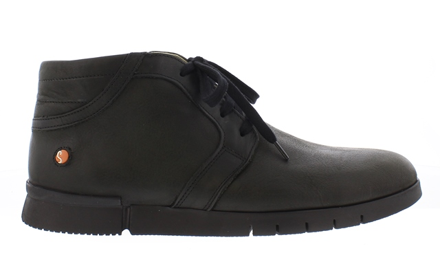 Softinos Men's Cul Ankle Boot in Black