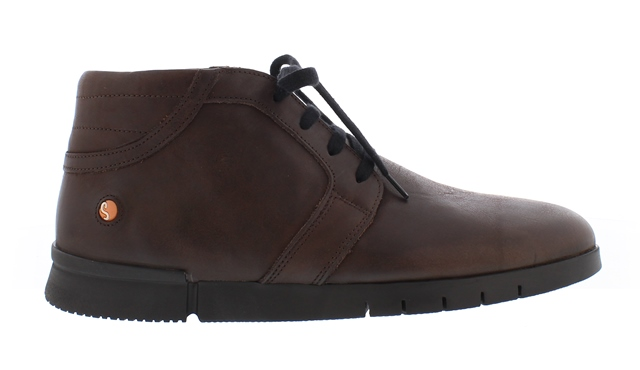 Softinos Men's Cul Ankle Boot in Brown