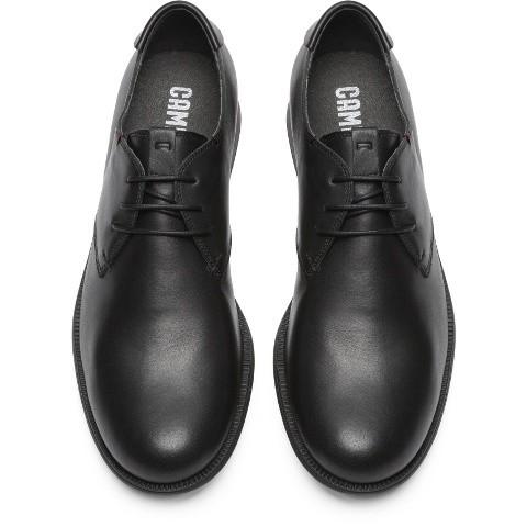 Camper 1913 Classic lace shoe- Black leather