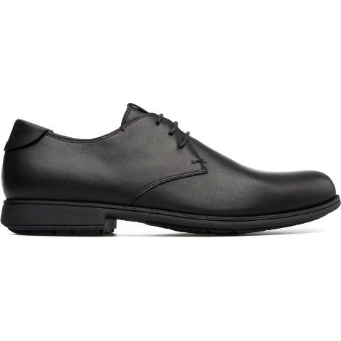 Camper 1913 Lace Shoe - Black Leather