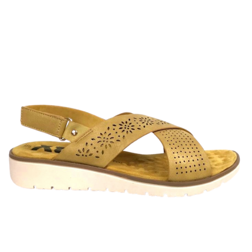 XTI Gemini Sandals - Yellow