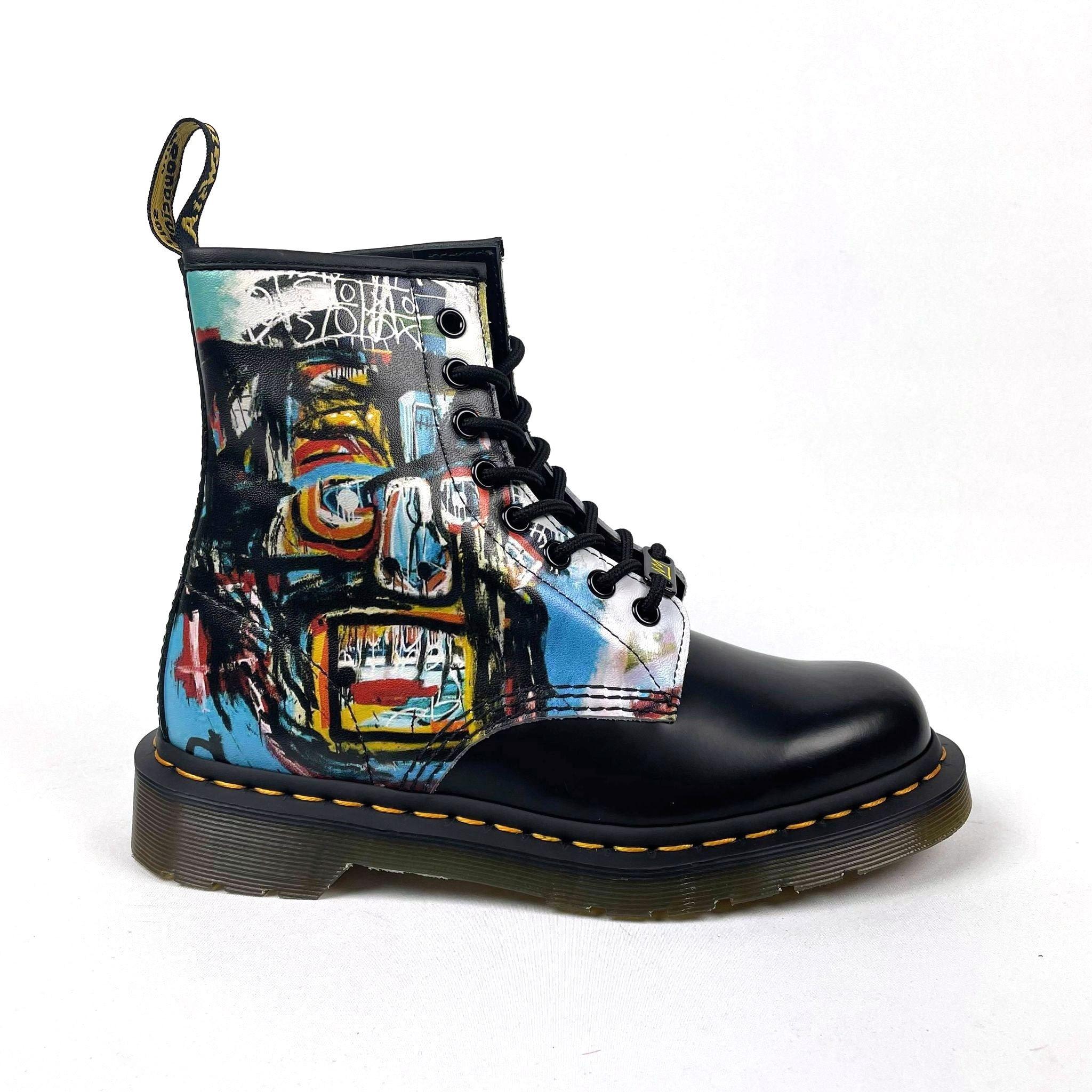 Dr Martens 1460 Basquiat II - Black/Multi