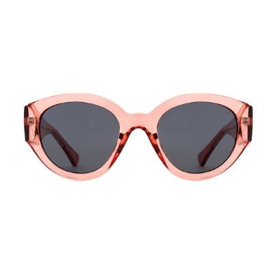 A.Kjaerbede Sunglasses - Big Winnie (Soft Red)
