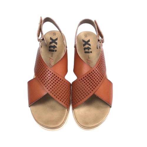 XTI Scorpio Sandals - Tan