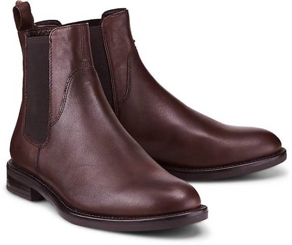 check out 41205 2578f Vagabond Amina Chelsea boot-Bordeaux leather