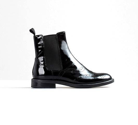 bbacf76b686 Vagabond Women's Amina patent leather brogue chelsea boot 4203-060-20 |  Tinfish Shoes | Fashion footwear shop in Leicester