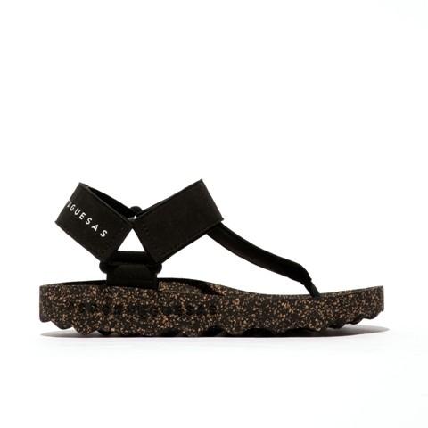 Aportuguesas Fizz Sandal - Black