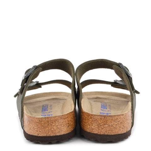 80686e0f215 Birkenstock men's Arizona sandal in Desert soil green birkoflor ...