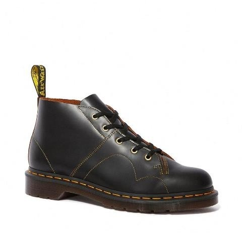 Dr Martens Church Vintage Boot - Black