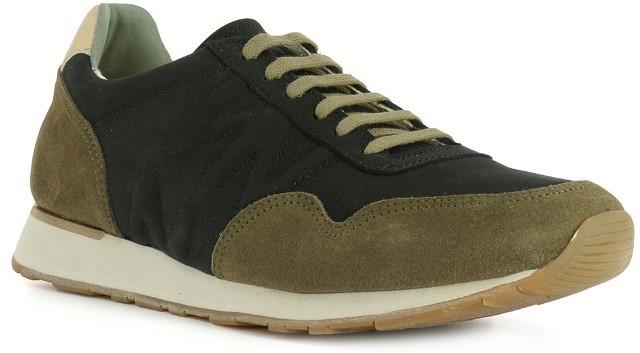 El Naturalista mens 'Walky' trainer ND90 Black/Khaki