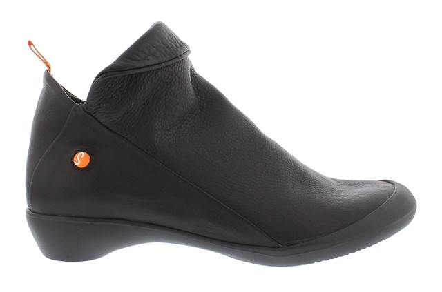 Softinos Farah Ankle Boot - Black leather