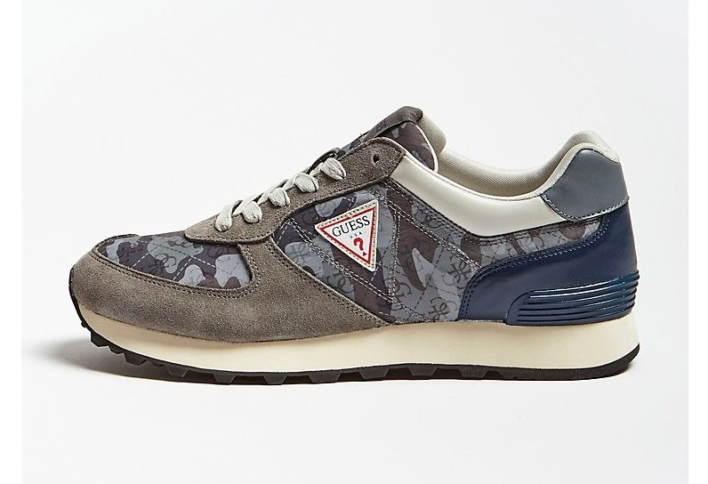 Guess Charlie Camo Trainer - Grey