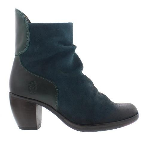 FLY London HOTA Ankle Boot - Petrol
