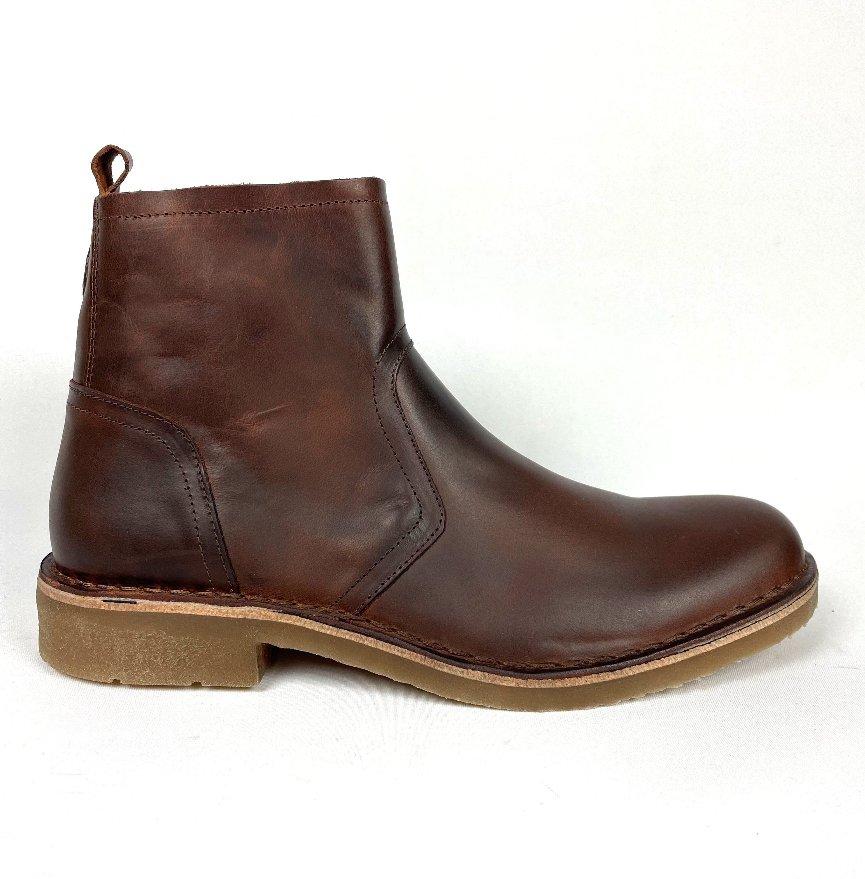 Fly London Riky Boot - Brandy