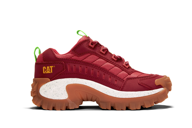 CAT Intruder Chunky Trainer - Red
