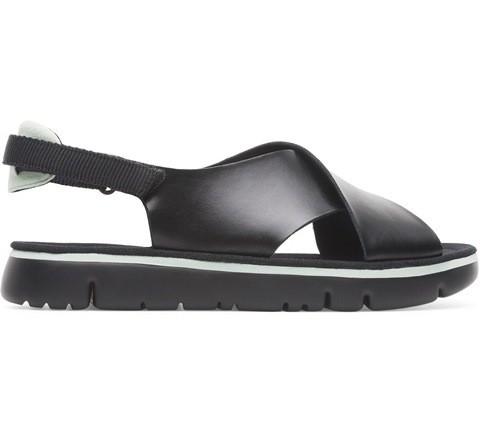 Camper Oruga Crossover Sandal - Black