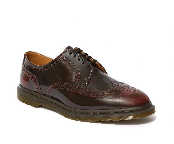 Dr Martens Kelvin 2 Brogue - Cherry red