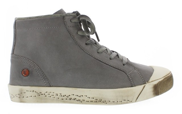 Softinos Kip High Top - Grey leather
