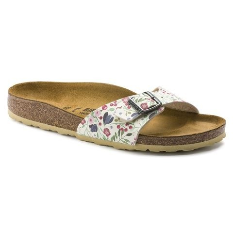 Birkenstock Madrid - Meadow Flowers Beige