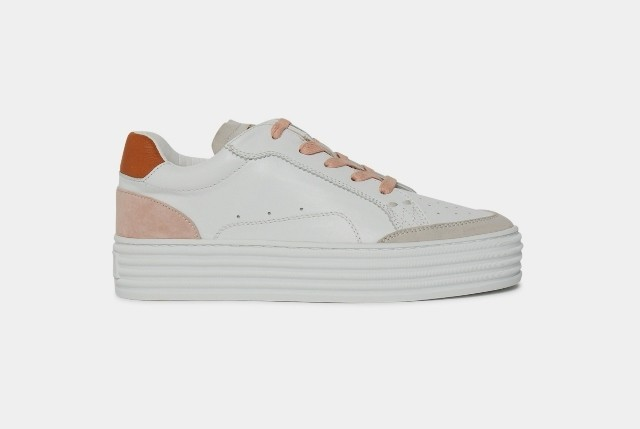 Philip Hog Majke Flatform Trainer- Rose water