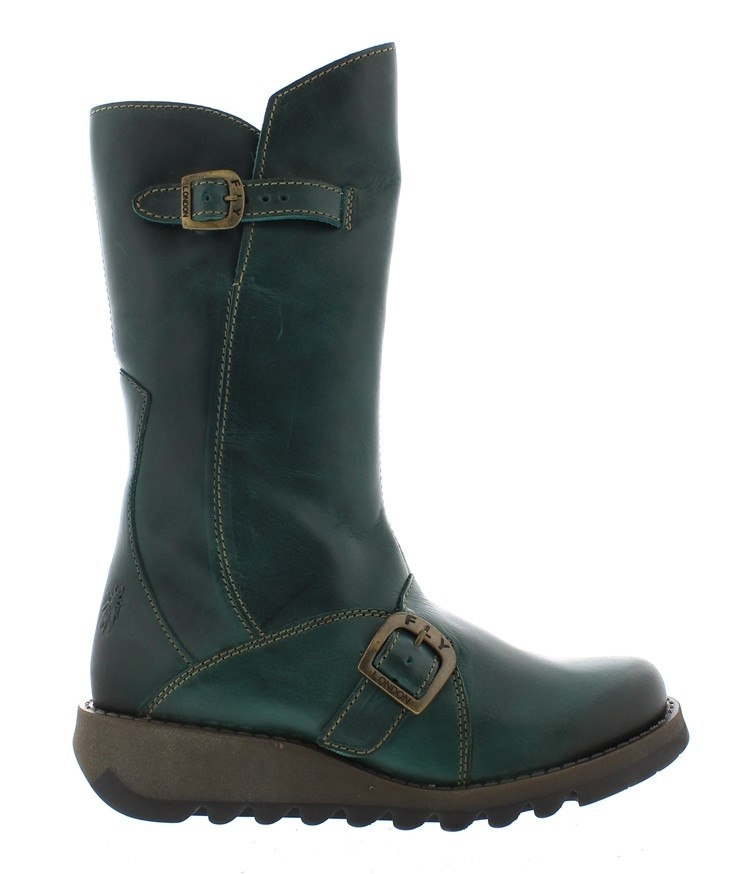 Fly London Mes 2 mid calf boot - Petrol