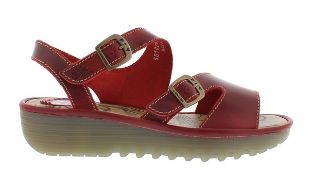 Fly London Enat - Red