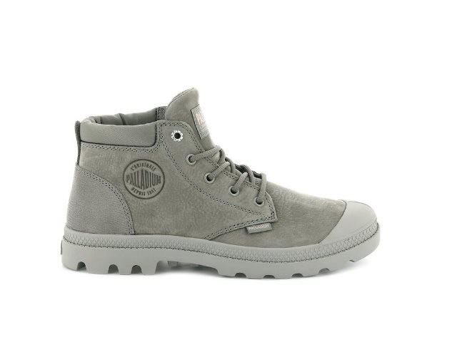 Palladium Pampa Lo cuff boot- Moonrock