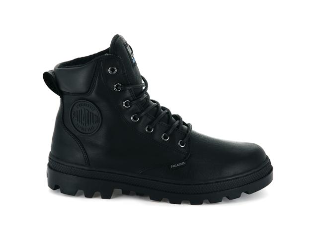 Palladium Pallabosse Sport Cuff W/P Boot - Black