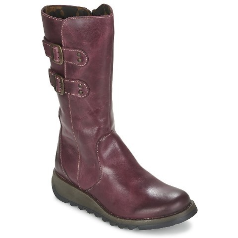 Fly London Suli Purple Mid Calf Boot