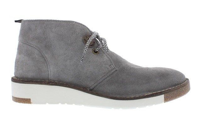 Fly London SWOR Grey Suede Desert Boot