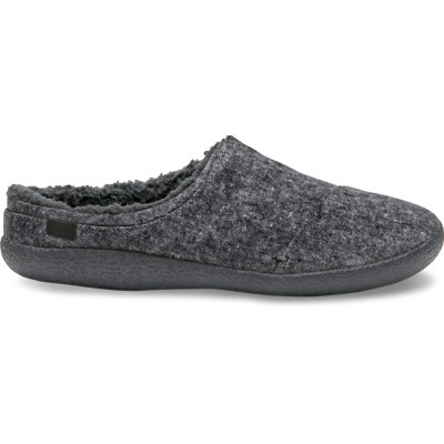 Toms Berkeley Mens fleece slippers- Grey