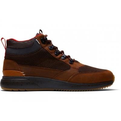 Toms Skully Waterproof Trainer - Brown Leather