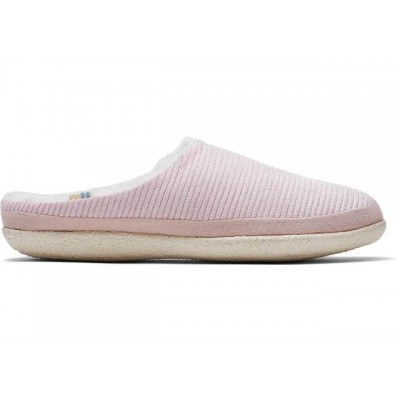 Toms Ivy Slippers - Pink Cord