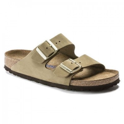 Birkenstock Arizona - Faded Khaki Nubuck