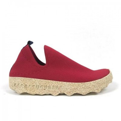 Asportuguesas Care Slip On - Red/White