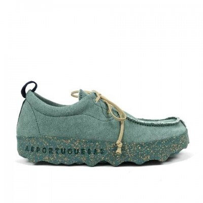 Asportuguesas Chat Lace Up - Green