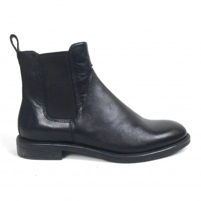 Vagabond Amina Leather Chelsea Boot - Black
