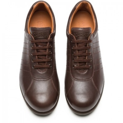 Camper Pelotas Ariel - Brown Leather